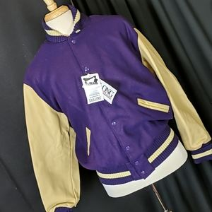 Dealing letter jacket, large, AS IS, nwt